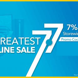 Courts: 7.7 GREATEST Online Sale + Get Additional 7% OFF with Promo Code!