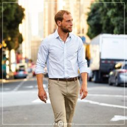 [Metro] The new Ultimate Iron Free trouser from Dockers® takes you from day to night in maximum comfort.