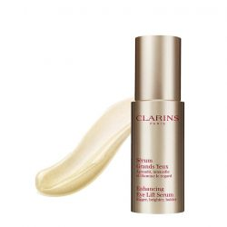 [Clarins] Get that instant wide-eyed effect with Enhancing Eye Lift Serum.