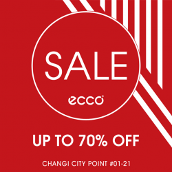 [Changi City Point] Look out for ECCO's (01-21) opening special!