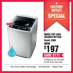 [Harvey Norman] Looking for an affordable washer?