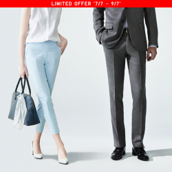 [Uniqlo Singapore] Stock up on smart but comfortable pants for work!