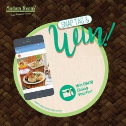 [Madam Kwan's] Do you have a favourite dish at Madam Kwan's that you want to share on Instagram?