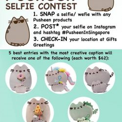 [Natures Collection] Join our Pusheen photo contest today!