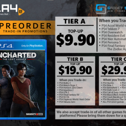 [GAME XTREME] Uncharted: The Lost Legacy Trade-In Promo【PROMO DURATION】 Now - 21/8/17【DETAILS】 Uncharted fans, here's your chance