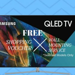 [Mega Discount Store] Don't miss our Samsung QLED Road Show with Attractive discount & give aways!