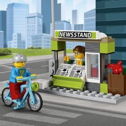 [The Brick Shop] LEGO® City - 60154 - Bus StationJoin the other passengers for a quick and easy ride on the LEGO® City Bus.
