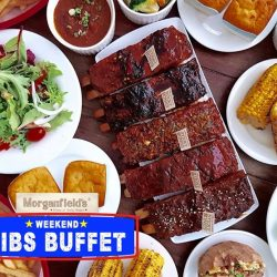 [Morganfield's] Free flow Sticky Bones for only $40?