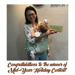 [BANK OF CHINA] Congratulations to Ester Em, winner of our Mid-Year Holiday Contest!