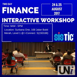 [SISTIC Singapore] Tickets for Finance for Non-Financial Executives goes on sale on 14 July.