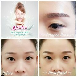 [AVONE BEAUTY SECRETS] For Avone Beauty Secrets latest Creative Essence Brows embroidery, the end result looks very natural as the full form of