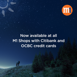 [M1] Enjoy $0 upfront payment for the latest handsets on mySIM plans.