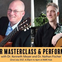 [The Face Shop] Join us for Guitar Masterclass and Performance this Saturday 22nd July 4.