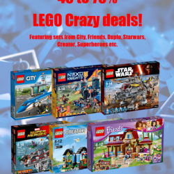 [Gifts Greetings] LEGO PROMO ALERT!