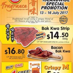 [Fragrance Bak Kwa] Good news to our Facebook fans!