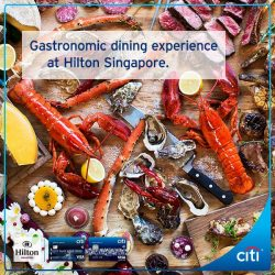 [Citibank ATM] Thinking of where to take your family for a feast this weekend?
