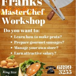 [GoGo Franks] GoGo Franks is opening a MASTERCHEF WORKSHOP!