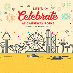 [Causeway Point] Mark your calendars and get ready for a jam-packed line-up of fab rewards, exciting activities and exclusive promotions