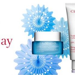 [Clarins] Clarins is proudly made in France and this Bastille Day, receive up to 7 FREE Clarins products when you shop