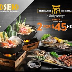 [Kiseki Japanese Buffet Restaurant] We're so grateful for your overwhelming support!
