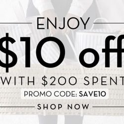 [motherswork] ONLINE EXCLUSIVE 🎉 Enjoy $10 off total bill with every $200 spent!