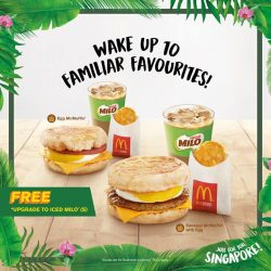 [McDonald's Singapore] Wake up to familiar favourites you can count on!