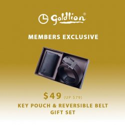 [Goldlion] Exclusive Offer for GOLDLION Boutique Members Time to do your gifting shopping with these timeless gift sets at up to