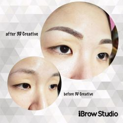 [iBrow Studio] Look at the difference 3D Creative can provide!