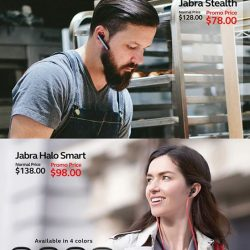 [Nübox] Now is a good time to get yourself wireless headsets from Jabra with up to $50 off!