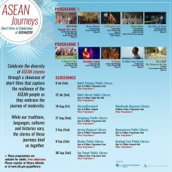 [Sengkang Public Library] Celebrate the diversity of ASEAN cinema through a showcase of short films that capture the resilience of the ASEAN people