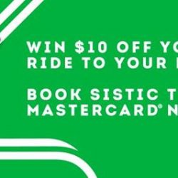 [SISTIC Singapore] Book tickets with Mastercard from now till 1 October 2017 and stand a chance to win $10 off your Grab