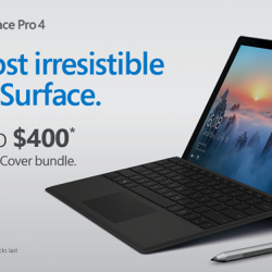 [Newstead Technologies] Surface Pro 4 now with special deals you can't resist, save up to $400 for purchase of Microsoft Surface