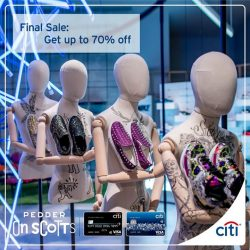[Citibank ATM] Last chance to shop Spring Summer 2017 styles from your favourite designers at Pedder on Scotts and On Pedder.