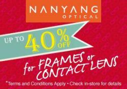 [Nanyang Optical] Don't miss out this special deal if you are a SAFRA member !
