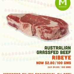 [Mmmm!] Australian Grassfed Ribeye Promotion starts this weekend!