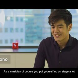 [DBS Bank] You've seen Nathan Hartono as a young banker who had the backs of his first clients in the latest