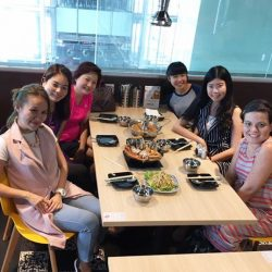 [Sushi Tei] Happening now at Orchard Central - Food Discovery Tour with Miss Tam Chiak !