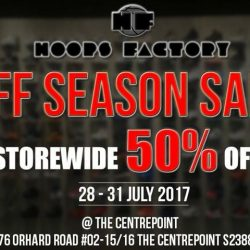 [Hoops Factory] We are having  an Off Season Sale on these following days!