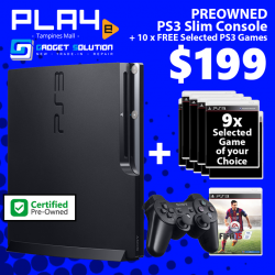 [GAME XTREME] Preowned PS3 Slim Bundle【PROMO DURATION】 While Stocks Last!