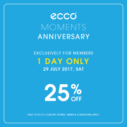 [ECCO] ECCO MOMENTS Member-Only Sale Today!
