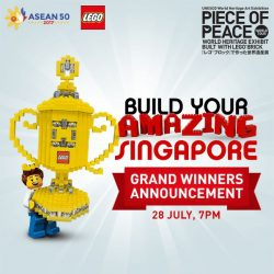 [LEGO] Just 3 DAYS AWAY till The Piece of Peace World Heritage Exhibit!