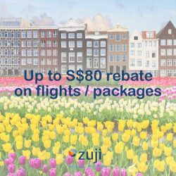 [UOB ATM] Be it a short getaway or a big holiday, get up to S$80 rebates when you book flights/packages