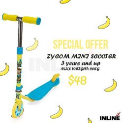 [SKECHERS KIDS] We having a special offer for various scooters.