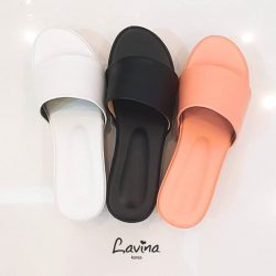 [Lavina] These Wedge Slides are made to stand out this summer!