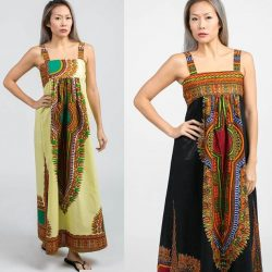 [Utopia] A wild wow look with african batik.