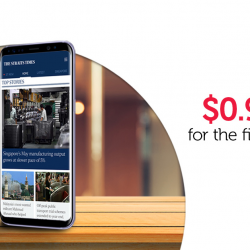 [Singtel] Get your digital copy of The Straits Times at just $0.