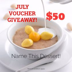 [Thai Village Restaurant] Just a few days to go until we announce the winner of our July Voucher Giveaway!
