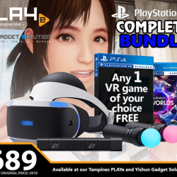[Microkid Learning Centre] PSVR Complete Bundle【PROMO DURATION】 While Stocks Last【DETAILS】 Why buy the PSVR items separately when you can get the