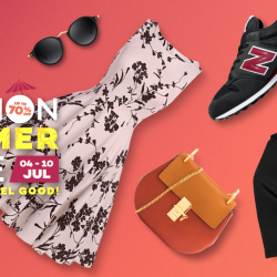 [Lazada Singapore] GSS SPECIAL: The Fasion Summer Sale is now on from 4 - 10 July!