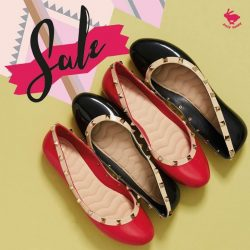 [Jelly Bunny] JELLY BUNNY END OF SEASON SALE• SHOES : MELINA STUD / HOT PINK , BLACK / 40.